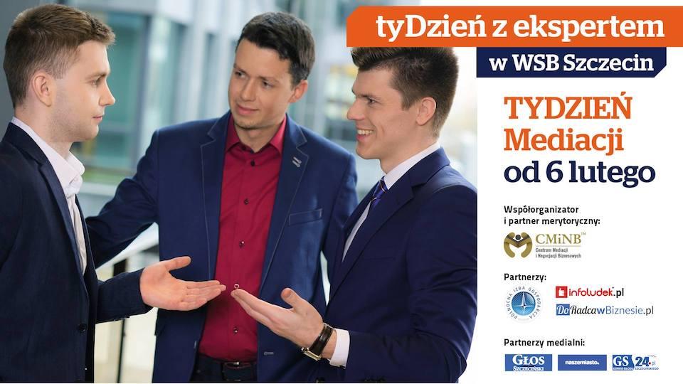 Tydzień Mediacji WSB Szczecin - Adwokat Adam Popławski